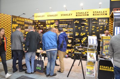 Company stand STANLEY BLACK & DECKER POLSKA Sp. z o.o. on trade show BUDMA 2016