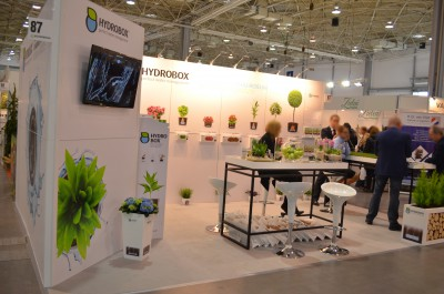 Company stand STEGU Sp. z o.o. on trade show GARDENIA 2016