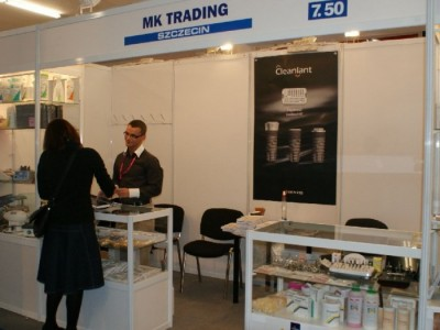 Company stand MK TRADING on trade show CEDE 2010