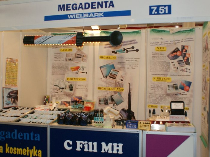 Company stand MEGADENTA on trade show CEDE 2010