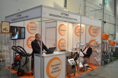 Company stand Ottimo on trade show ExpoSWEET 2016