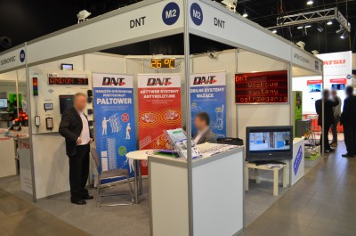 Company stand DNT on trade show AUTOMATICON 2016