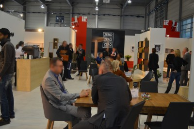 Company stand PAGED MEBLE S.A. on trade show MEBLE POLSKA 2016