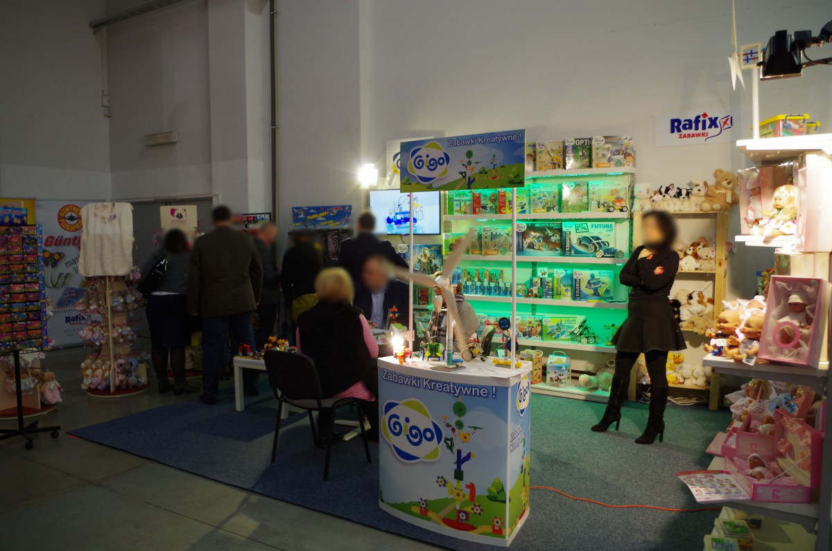 Company stand RAFIX on trade show KIDS' TIME 2016