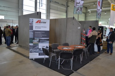 Company stand RECTOR AGRO Sp. z o.o. on trade show AGRO-PARK 2016