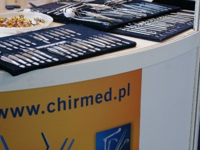 Company stand CHIRMED  on trade show CEDE 2010