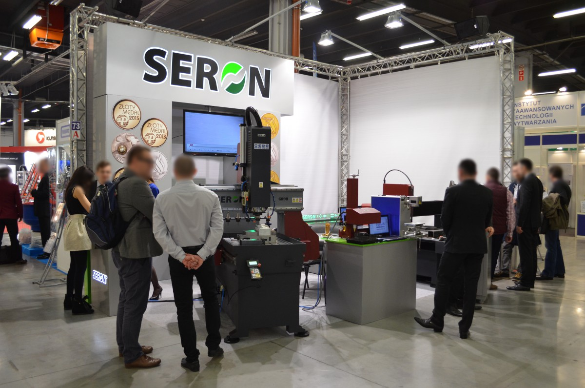Company stand SERON Sp.j. on trade show STOM-TOOL & STOM-LASER & STOM-BLECH & CUTTING 2016
