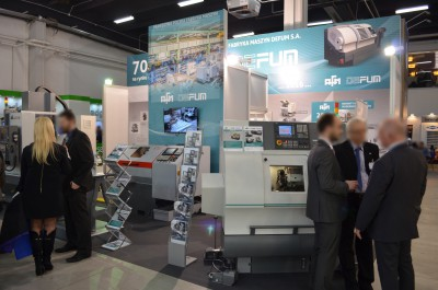 Company stand SIEMENS Sp. z o.o on trade show STOM-TOOL & STOM-LASER & STOM-BLECH & CUTTING 2016