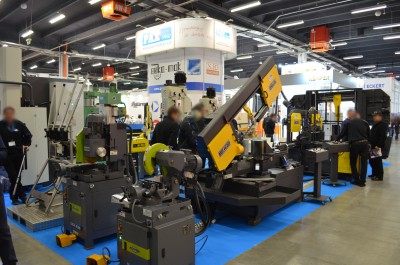 Company stand PAX on trade show STOM-TOOL & STOM-LASER & STOM-BLECH & CUTTING 2016