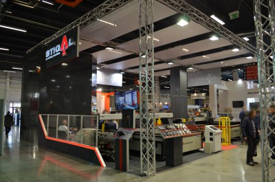 Company stand STIGAL on trade show SPAWALNICTWO 2016