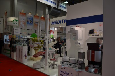 Company stand MEDITRANS on trade show KRAKDENT 2016