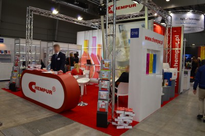 Company stand CHEMPUR on trade show EuroLab & Crimelab 2016