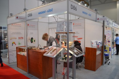 Company stand WIEDENT Sp.j. on trade show KRAKDENT 2016
