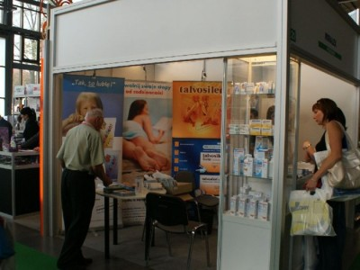 Company stand MIRALEX Sp. z o.o. on trade show CEDE 2010
