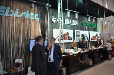 Company stand OLIDENT on trade show KRAKDENT 2016
