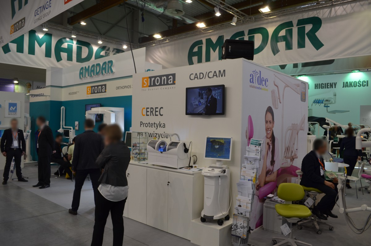 Company stand PLANMECA OY on trade show KRAKDENT 2016