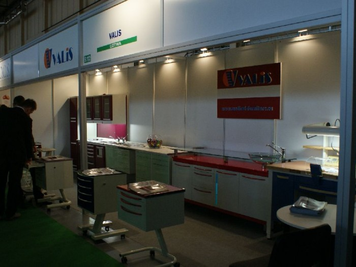 Company stand VALIS on trade show CEDE 2010