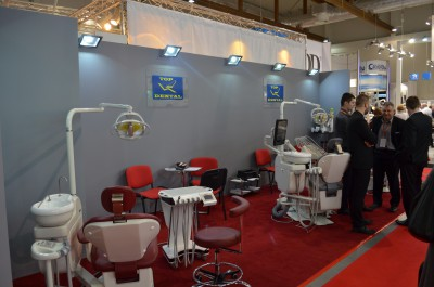 Company stand TOP DENTAL Sp.j. on trade show KRAKDENT 2016