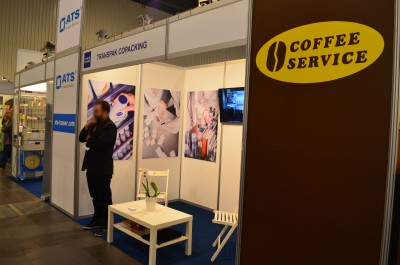 Stoisko firmy Transpak Copacking na targach PACKAGING INNOVATIONS WARSZAWA 2016