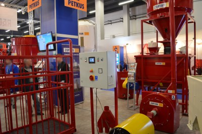 Company stand ZUPTOR Sp. z o.o. on trade show AGROTECH & LAS-EXPO 2016