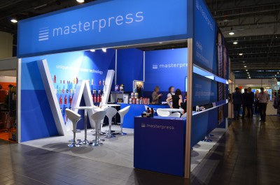 Company stand MASTERPRESS S.A. on trade show PACKAGING INNOVATIONS WARSZAWA 2016