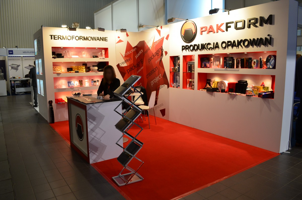 Company stand PAKFORM Sp. z o.o. on trade show PACKAGING INNOVATIONS WARSZAWA 2016
