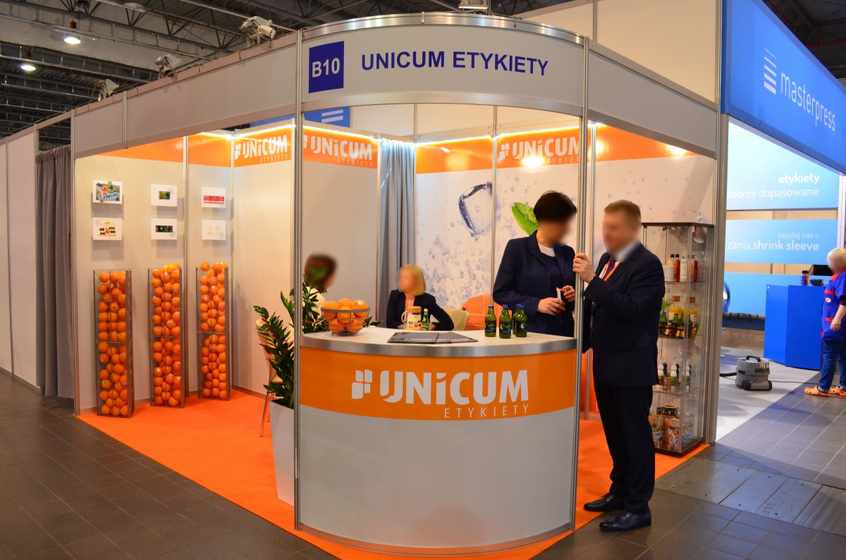 Company stand UNICUM on trade show PACKAGING INNOVATIONS WARSZAWA 2016