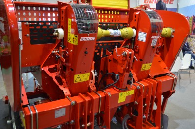 Company stand Grimme Landmaschinenfabrik GmbH & Co. KG on trade show AGROTECH & LAS-EXPO 2016