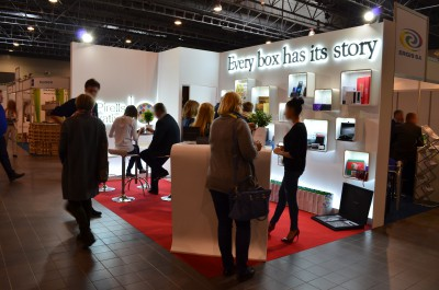 Company stand Pirells Innovative on trade show PACKAGING INNOVATIONS WARSZAWA 2016