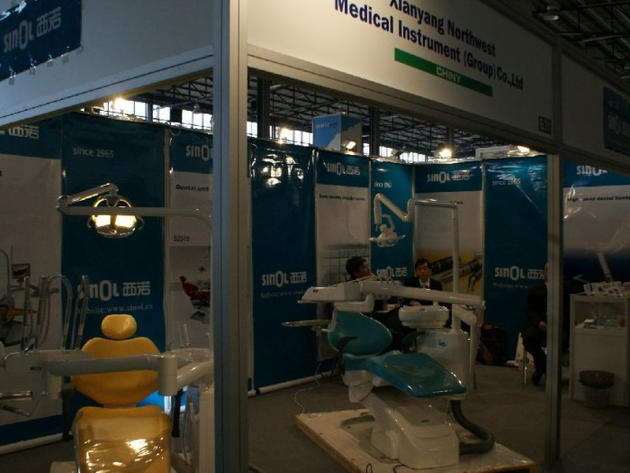 Company stand Xian Yang North West Medical Instrument (Group) Co., Ltd on trade show CEDE 2010