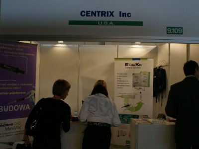 Company stand CENTRIX Inc.  on trade show CEDE 2010