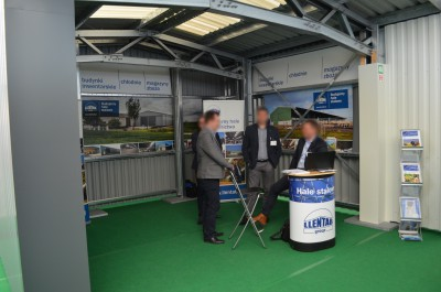 Company stand Llentabhallen Sp. z o.o. on trade show AGROTECH & LAS-EXPO 2016