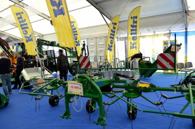 Company stand KELLFRI Sp. z o.o. on trade show AGROTECH & LAS-EXPO 2016