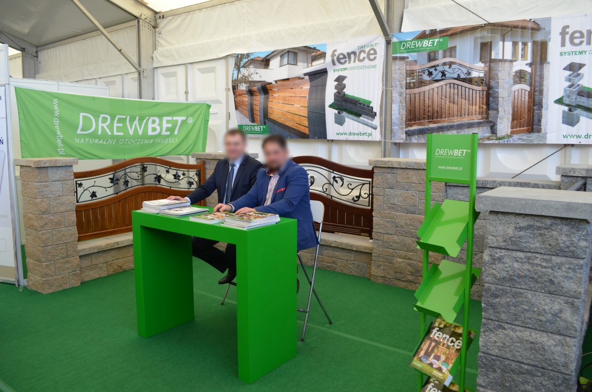Company stand DREWBET Sp.j.  on trade show AGROTECH & LAS-EXPO 2016