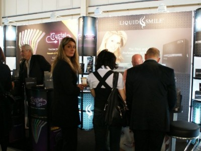 Company stand LIQUID SMILE on trade show CEDE 2010