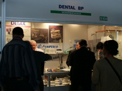 Company stand DENTAL BP on trade show CEDE 2010