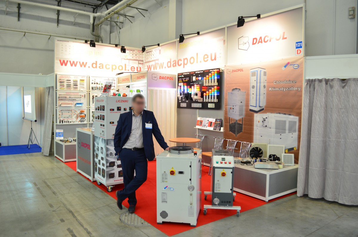 Company stand DACPOL SP. Z O.O. on trade show PLASTPOL 2016