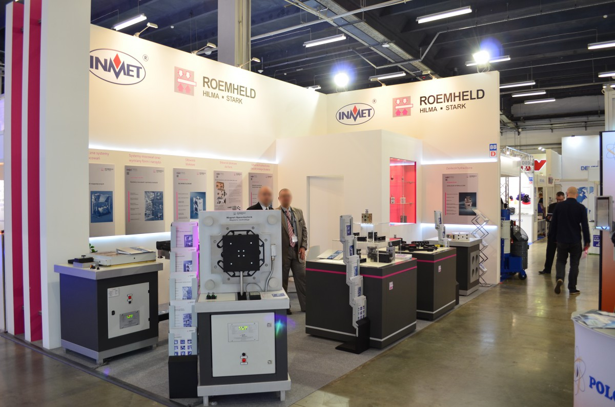 Company stand INMET - BTH on trade show PLASTPOL 2016