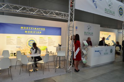 Company stand EKOGRANULAT on trade show PLASTPOL 2016