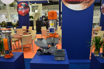 Company stand MOTAN-COLORTRONIC GmbH on trade show PLASTPOL 2016