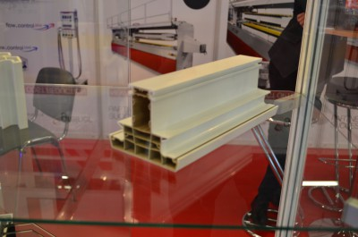 Company stand GREINER EXTRUSION GmbH on trade show PLASTPOL 2016