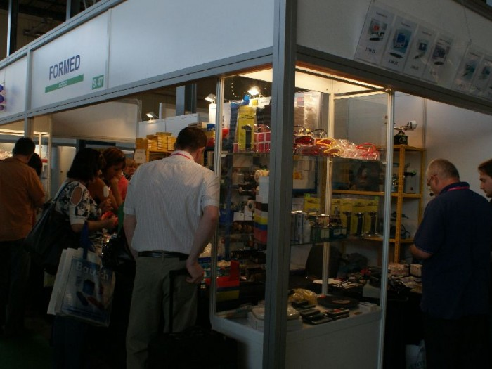 Company stand FORMED on trade show CEDE 2010