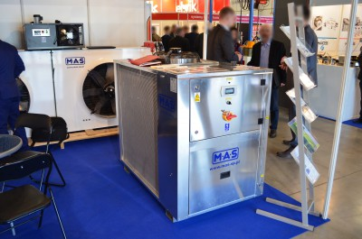 Company stand M.A.S. Sp. z o.o. on trade show PLASTPOL 2016