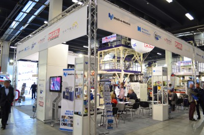 Company stand DOTECO SPA on trade show PLASTPOL 2016