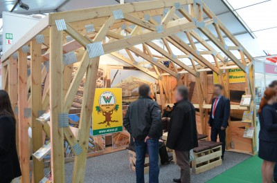 Company stand Tartak Witkowscy Sp.J. on trade show AGROTECH & LAS-EXPO 2016