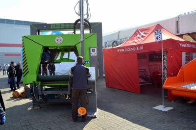 Company stand INTER BIS GROUP SP. Z O.O. on trade show AGROTECH & LAS-EXPO 2016