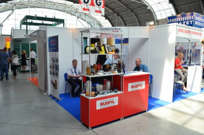 Company stand Technika Filtracji  RUDFIL s.c. on trade show AUTOSTRADA-POLSKA & ROTRA & TRAFFIC-EXPO - TIL & EUROPARKING 2016