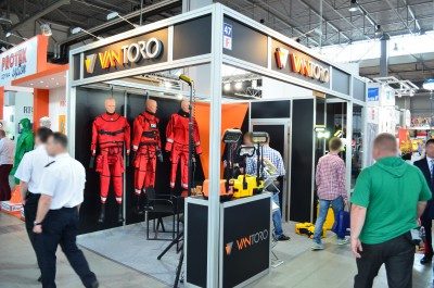 Company stand VANTORO Wojciech Szłapa on trade show EDURA 2016