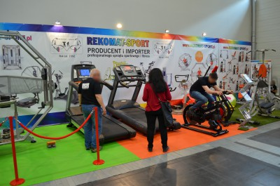 Company stand REKOMAT-SPORT on trade show FIT-EXPO & Sport Invest 2016