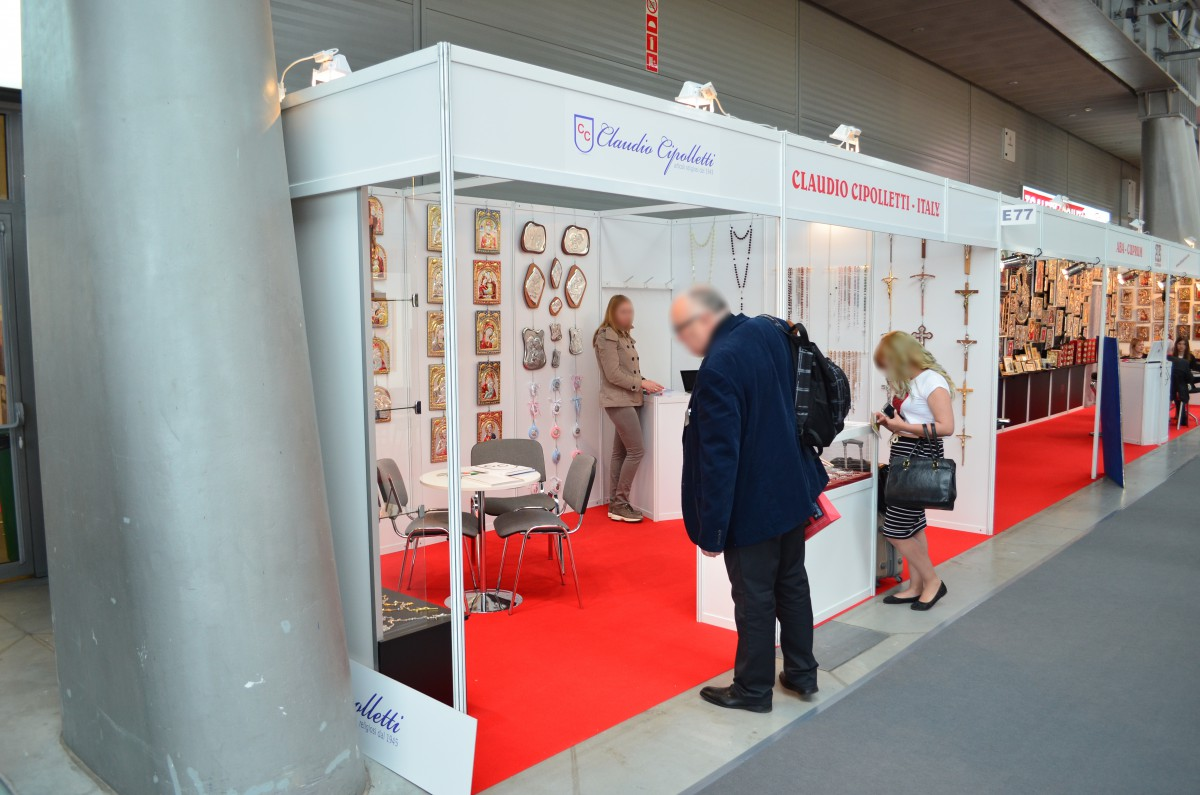 Company stand Claudio Cipolletti S.r.l. on trade show SACROEXPO & EXPOSITIO 2016